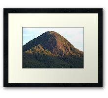 Mount Coxcombe Up Close Framed Print