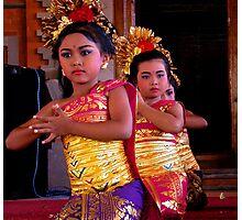 Welcome Dance, Ubud, Bali Photographic Print