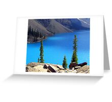 Pristine Waters Greeting Card