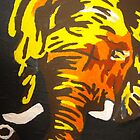 abstract elephant by Duane Hurn