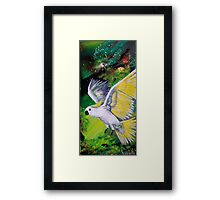Flight In the Wild Framed Print
