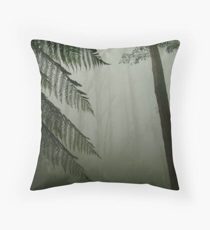 Black Spur Throw Pillow