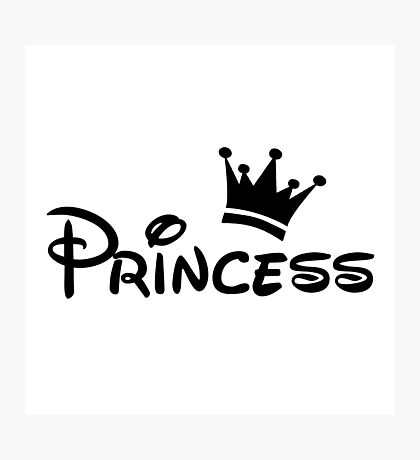 """My Princess (Matches with """"My Prince"""") Photographic Print"""