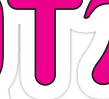 QT Pi (Cutie Pie) Sticker
