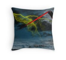 Here they come  (inspiration from Ten Years After) Throw Pillow
