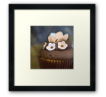 .chocolate temptation. Framed Print