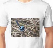 Superb Blue Wren Unisex T-Shirt