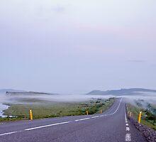 Low fog near Gullfoss by Stefán Kristinsson