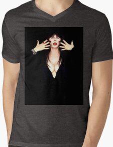 Elvira Mens V-Neck T-Shirt