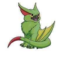 Mini Green Narga by Rikku2007