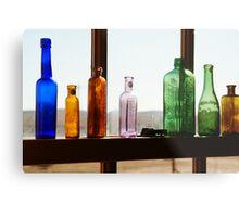 Bottles, Silverton Cafe, Outback Australia Metal Print
