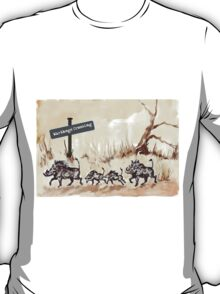 Warthogs Crossing T-Shirt