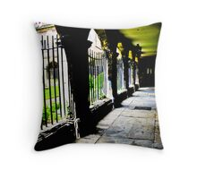 Shaded Cloisters Throw Pillow