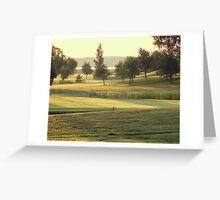 Green Shades by Dawn Greeting Card