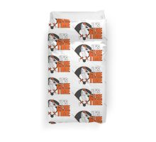 It's Game Time - Baseball (Orange) Duvet Cover