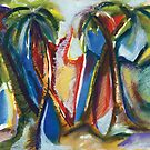 Tropical Palm Rhumba by Kerryn Madsen-Pietsch