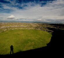 Guess Who At Greenan Fort by Alan McMorris