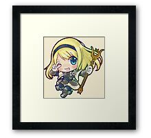 Lux - League of Legends Framed Print