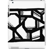 BW Geometrics iPad Case/Skin