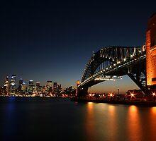 Sydney Harbour Bridge by davecourt