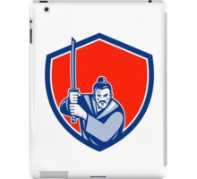 Samurai Warrior Katana Sword Shield Retro iPad Case/Skin