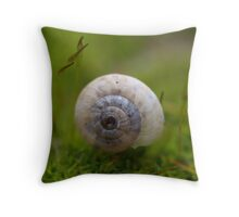 Floating On A Bed Of Moss II Throw Pillow