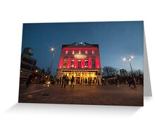 The Old Vic  Greeting Card