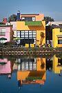 Orange House II by Kevin Bergen