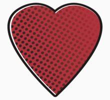Comic Heart Kids Tee