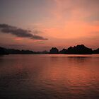 Halong Bay by Leonie Harris