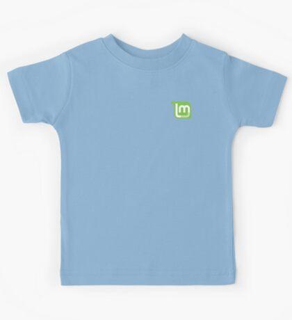 Linux Mint Flat Kids Tee