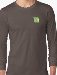 Linux Mint Flat Long Sleeve T-Shirt