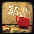 Little Red Teacup by kimbarelly