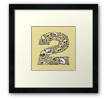Bones 2 Framed Print