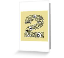 Bones 2 Greeting Card