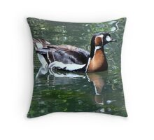 Red-breasted Goose Throw Pillow
