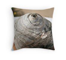 Wasps nest Throw Pillow