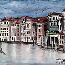"""Gondolier""  by Sandy Sparks"