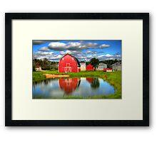 Country Barnyard Framed Print