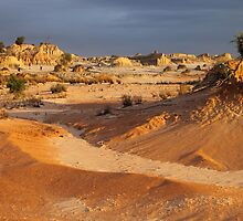 Pinnacles at Sunset #2 by Carole-Anne