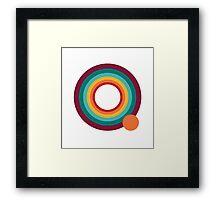 Q by Manly Design Framed Print