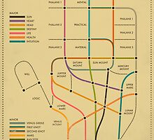PALMISTRY (SUBWAY STYLE) by JazzberryBlue