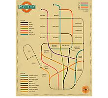 PALMISTRY (SUBWAY STYLE) Photographic Print
