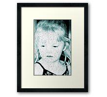 Blonde Framed Print