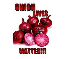 Onion lives matter!!! by hattart