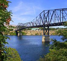 Framed Bridge by Debbie Roelle