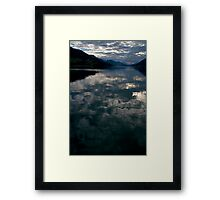 Dawn at the Lake Framed Print