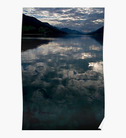 Dawn at the Lake Poster
