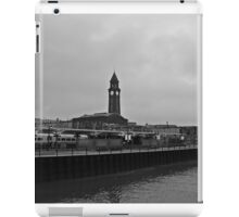 NJ Transit's Clock Tower Hoboken NJ iPad Case/Skin