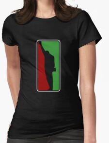 Fists Up Logo Womens Fitted T-Shirt